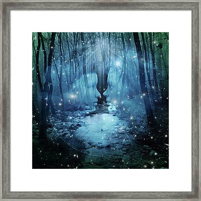 Wood  Framed Print