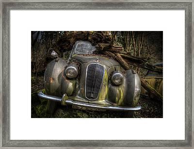 Wood On The Lagonda Framed Print