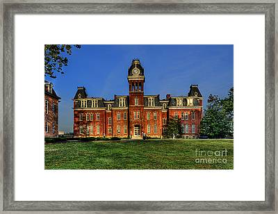 Woodburn Hall In Morning Framed Print by Dan Friend