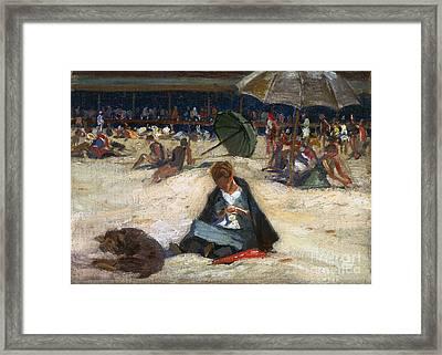 Woodbury: Ogunquit, C1912 Framed Print