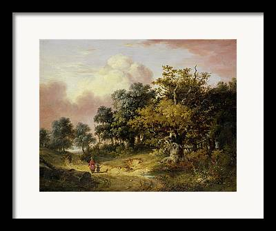 Robert Woods Framed Prints