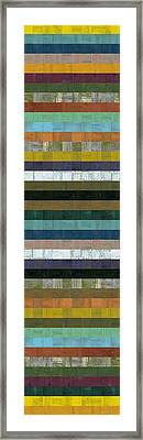 Wooden Abstract Xl Framed Print