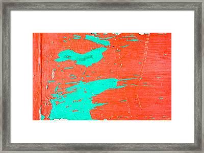 Wooden Backgroubnd Framed Print