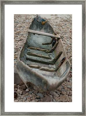 Wooden Boat1 Framed Print