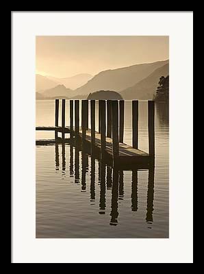 Lough Framed Prints