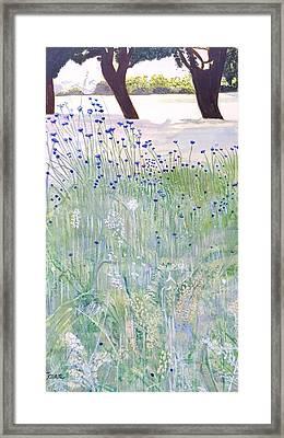 Woodford Park In Woodley Framed Print