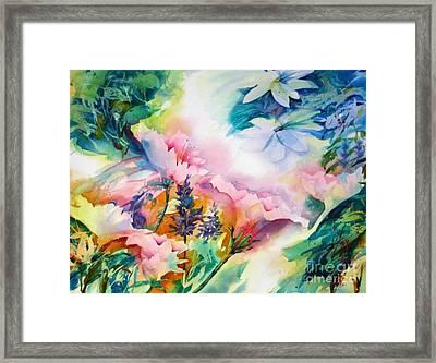 Woodland Bouquet Framed Print