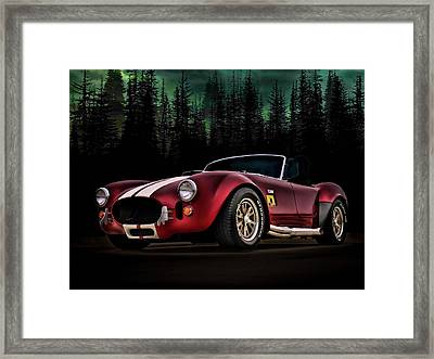 Woodland Cobra Framed Print by Douglas Pittman