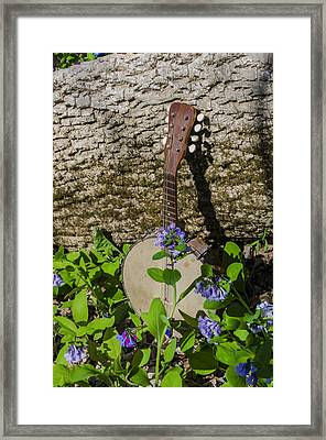 Woodland Music Framed Print