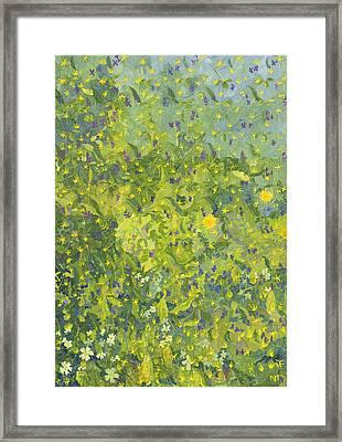 Woodland Opening Framed Print