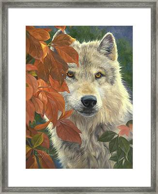 Woodland Prince Framed Print by Lucie Bilodeau