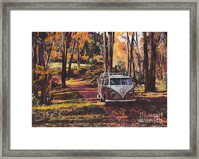 Woodland Framed Print by S Poulton