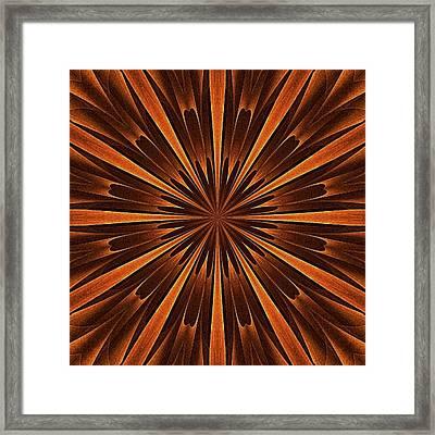 Woodland Spirits Mandala Framed Print