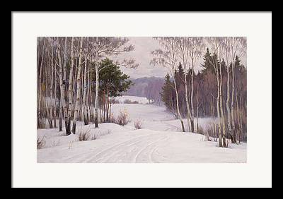 Woodland Views Framed Prints