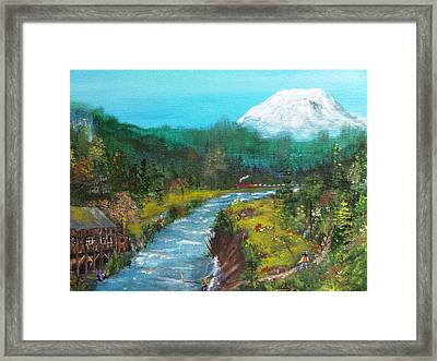 Woodland Washington Framed Print