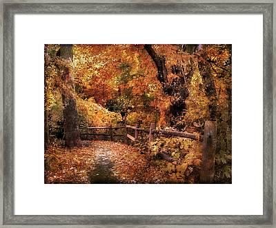 Woodland Whimsy Framed Print by Jessica Jenney