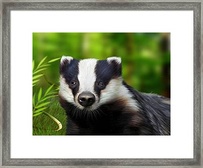 Woodland Wonder Framed Print by Julie L Hoddinott