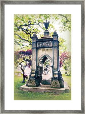 Woodlawn Spring Framed Print by Jessica Jenney