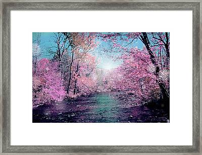 Woods 4 Framed Print