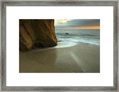 Wood's Cove Framed Print by Gary Zuercher