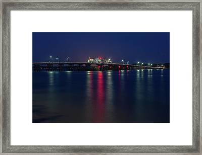 Woods Memorial Bridge Framed Print