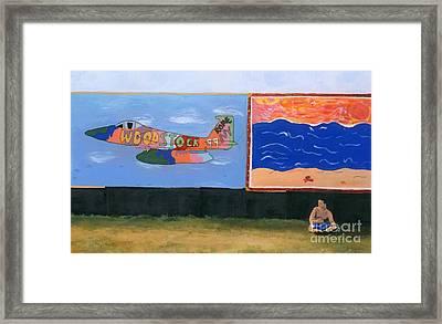 Woodstock 99 Revisited Framed Print