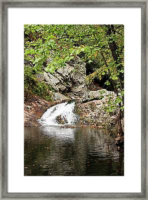 Framed Print featuring the photograph Woodsy Flow by Kristin Elmquist