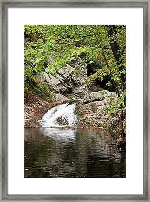Woodsy Flow Framed Print by Kristin Elmquist