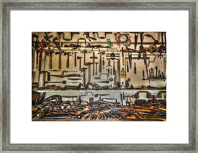 Woodworker's Collection Framed Print