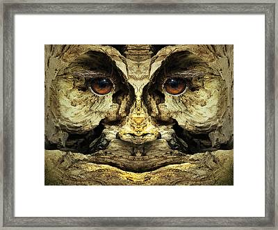 Woody 123 Framed Print by Rick Mosher