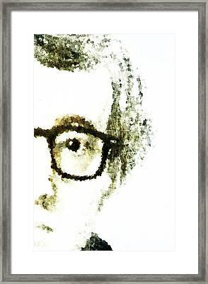 Woody Framed Print