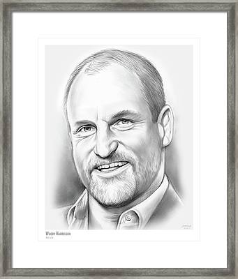 Woody Harrelson Framed Print