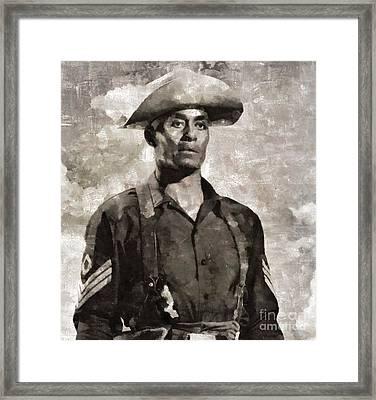 Woody Strode, Actor Framed Print