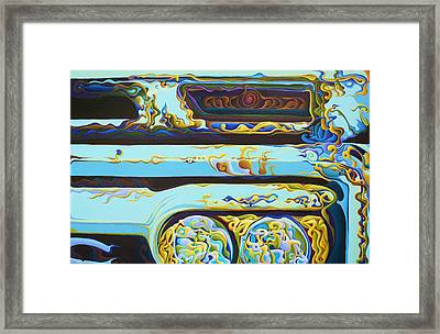Woohooxidaisical Corrustination Framed Print
