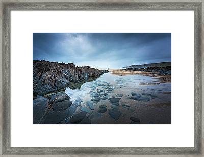 Woolacombe Beach Framed Print by Svetlana Sewell