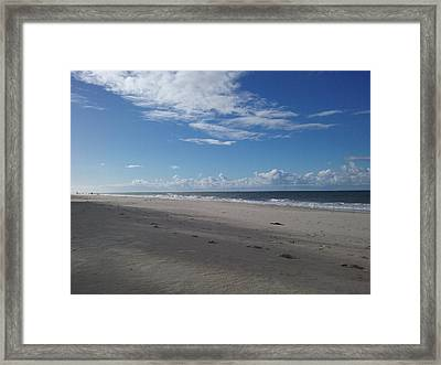Woorim Beach Framed Print