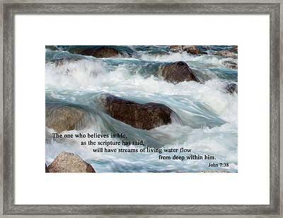 Word Of Truth Framed Print