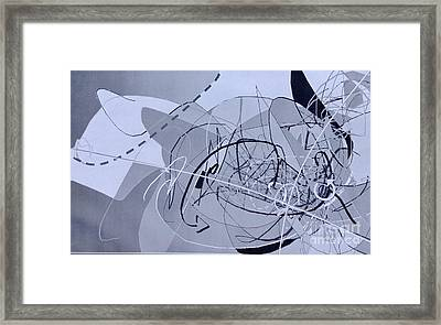 Word1 Framed Print