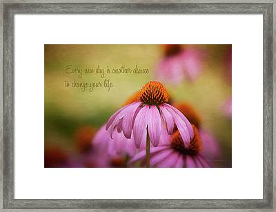 Words For The Soul Framed Print by Maria Angelica Maira