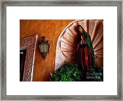 Words From Above Framed Print by Mexicolors Art Photography