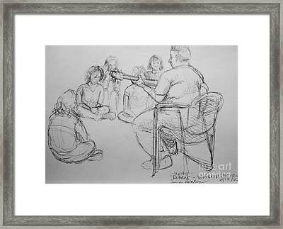 Worhsip The Lord Framed Print by Jamey Balester