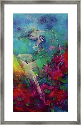 Dream With Nymph Framed Print