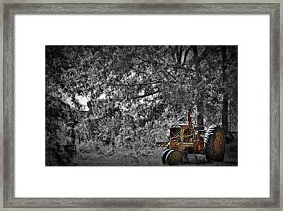 Work Gone By Framed Print by Skip Willits