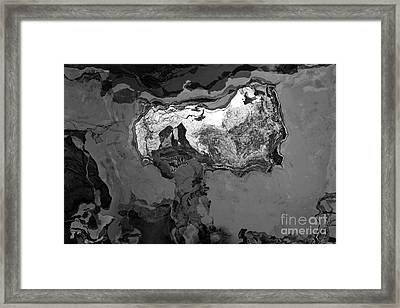 Work II Black And White Framed Print by Brenton Cooper