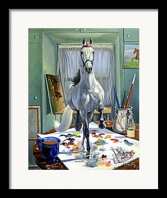 Saddlebred Framed Prints
