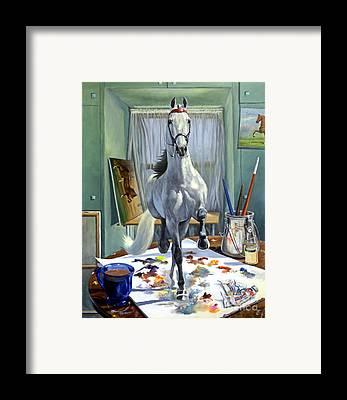 Equine Art Framed Prints