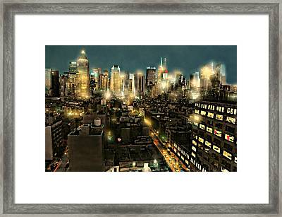 Work It Out Framed Print by Diana Angstadt