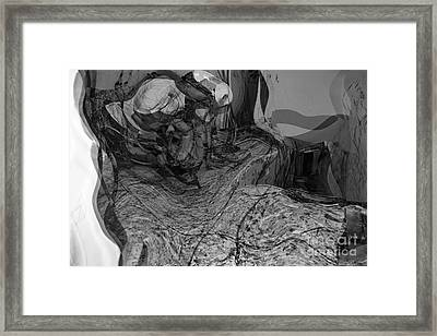 Work Series IIi Bw Framed Print by Brenton Cooper