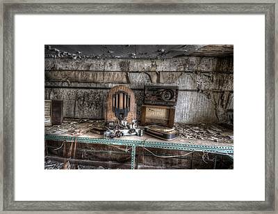 Work Time Framed Print