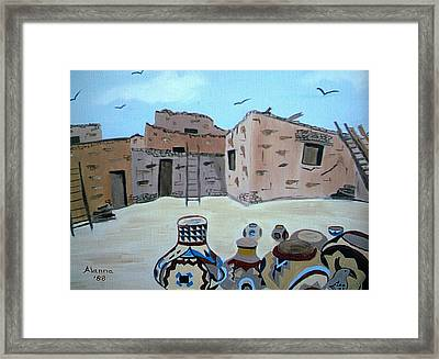 Work To Be Done Framed Print by Alanna Hug-McAnnally
